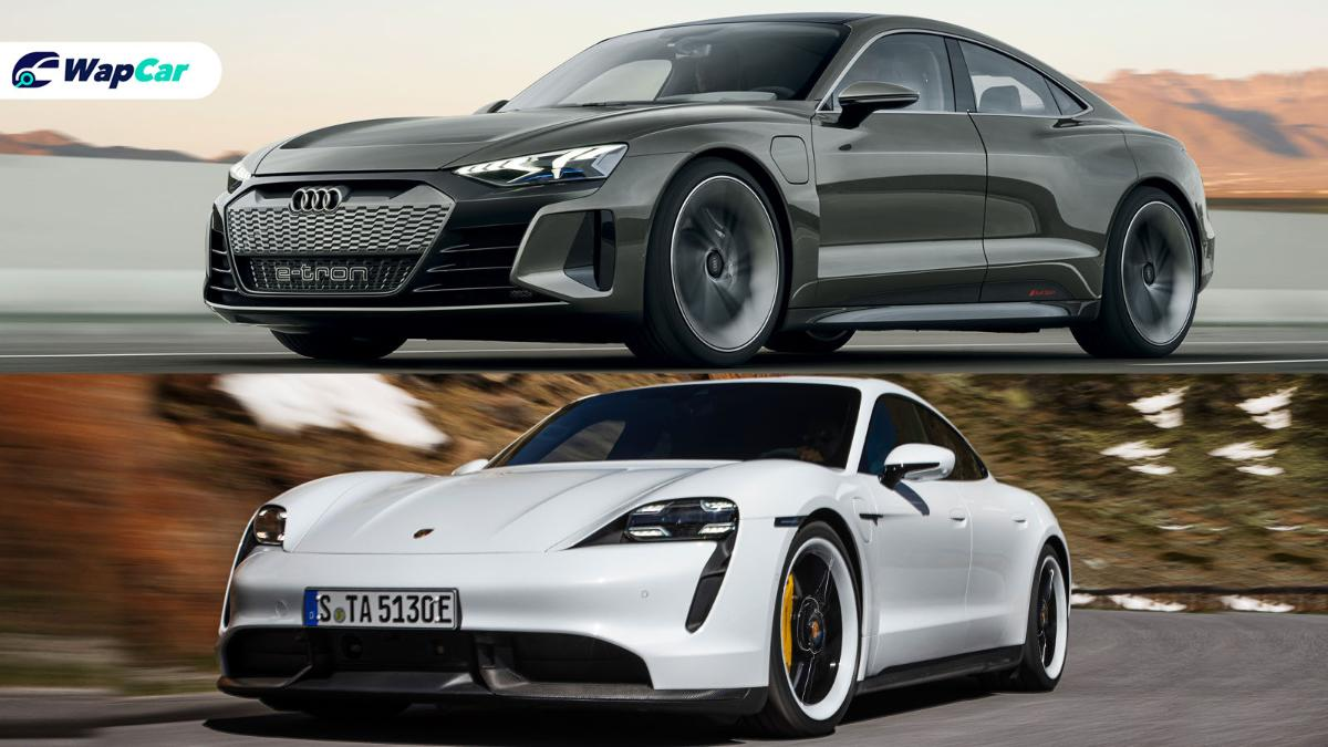 Is the Audi e-tron GT just a Porsche Taycan with a different body? 01