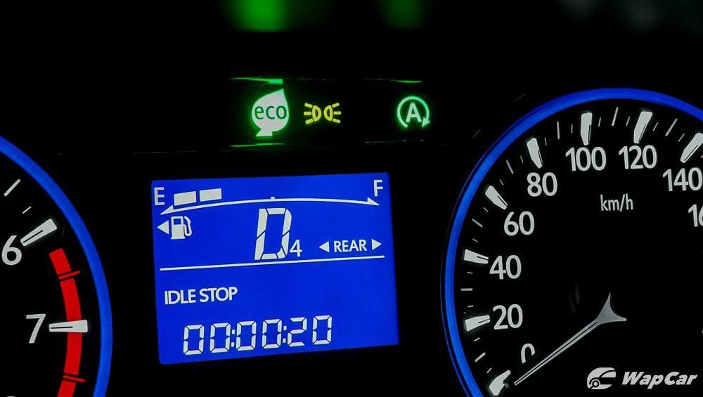 You Can T Turn Off Eco Mode On The Perodua Myvi Because Wapcar