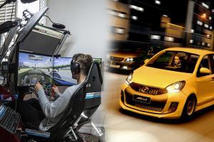 Racing simulator – 6 langkah dan cara mudah untuk anda berlumba bawah RM 1,000!