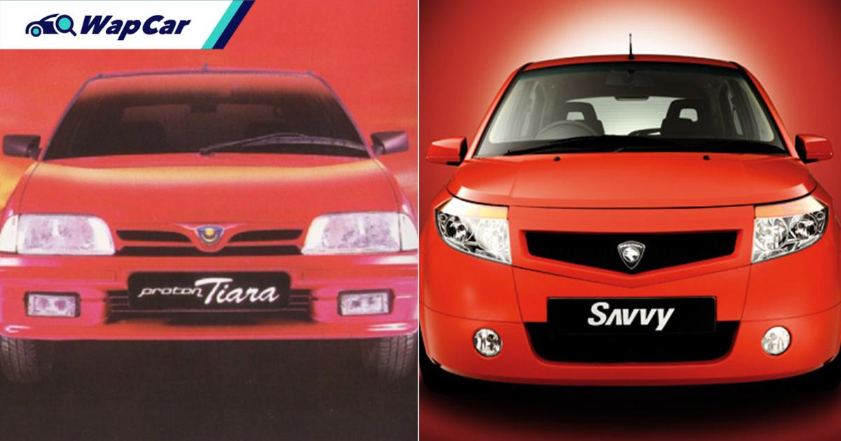 Proton tried fighting Perodua with the Tiara and Savvy, and lost miserably 01
