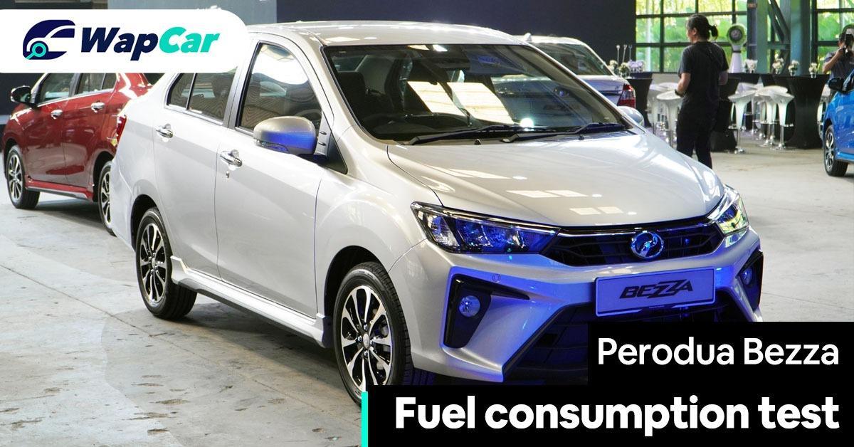 2020 Perodua Bezza fuel consumption