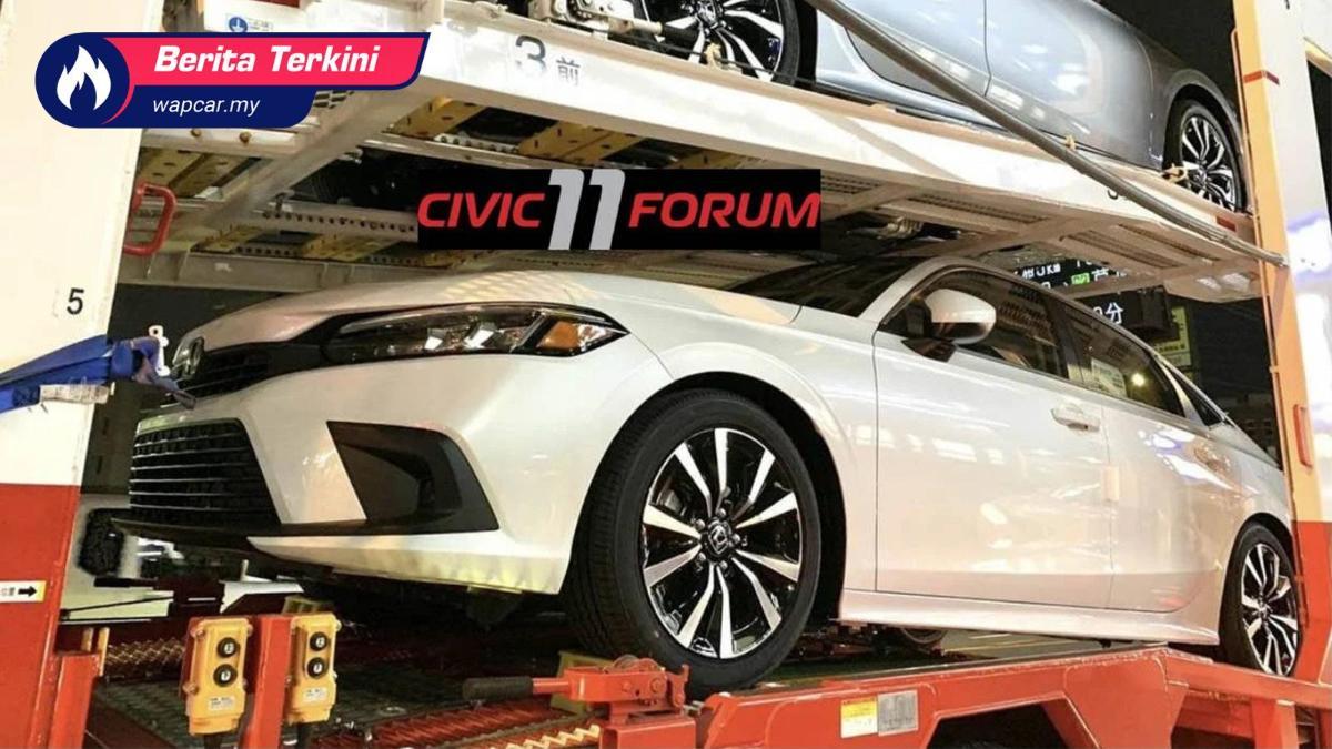 Spyshot: Honda Civic FE 2022 versi atas jalan diintip dalam penghantaran! 01