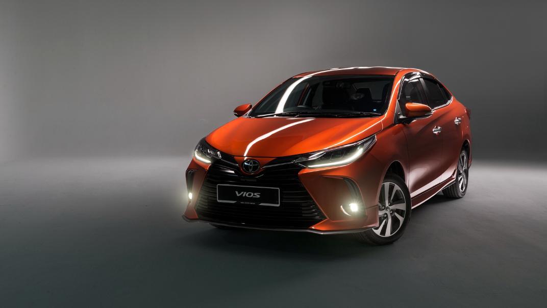 2021 Toyota Vios 1.5E Exterior 019