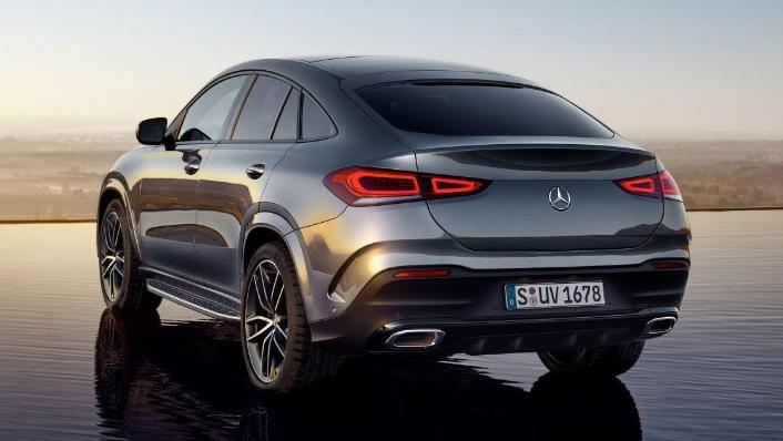 2020 Mercedes-Benz GLE 450 4Matic Coupe Exterior 004