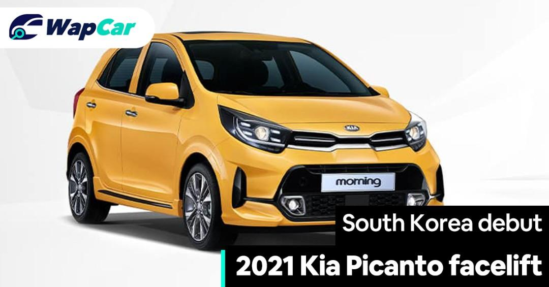 2021 Kia Picanto facelift launched