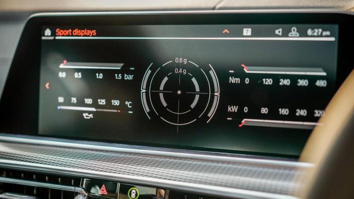 2020 BMW X6 xDrive40i M Sport Interior 006