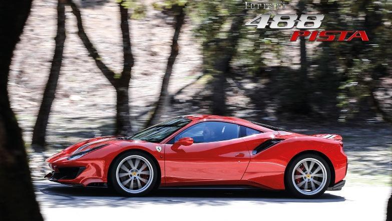 Ferrari 488 (2019) Exterior 011