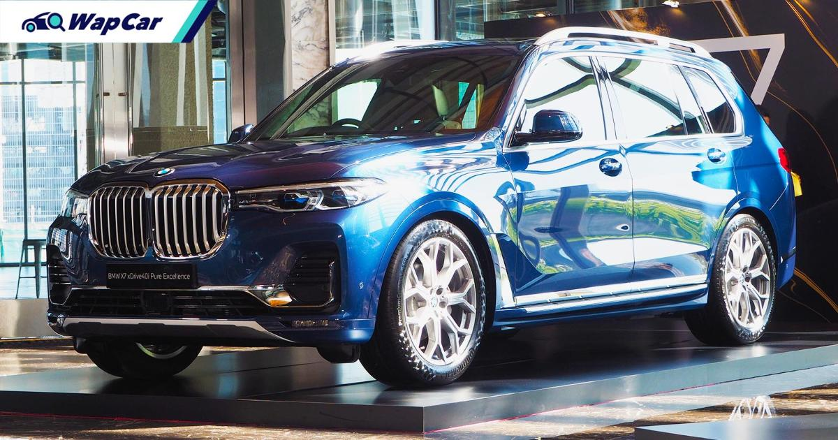 CKD 2021 BMW X7 xDrive40i launched in Malaysia, now with ACC, RM 708k 01