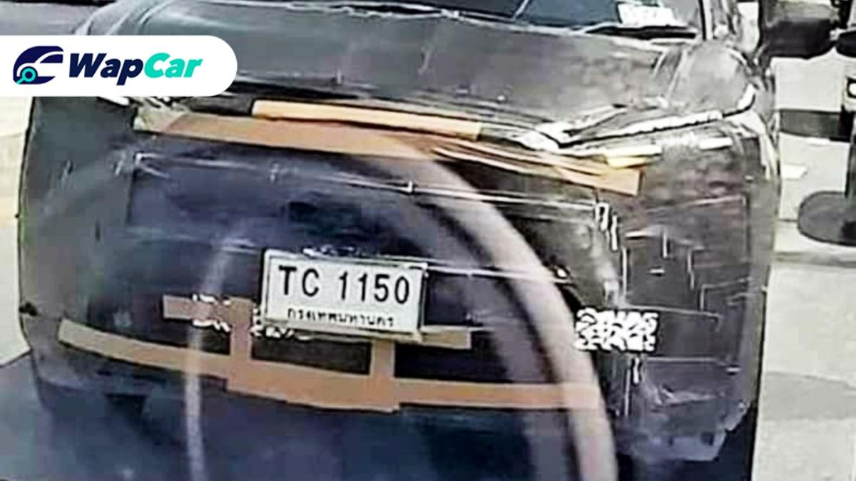 Spied! Toyota Corolla Cross's heavily camouflaged front-end 01