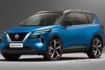 All-new 2021 Nissan X-Trail rendered, based on leaked patent visual