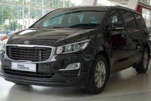 Kia Grand Carnival now comes with optional leather seats?