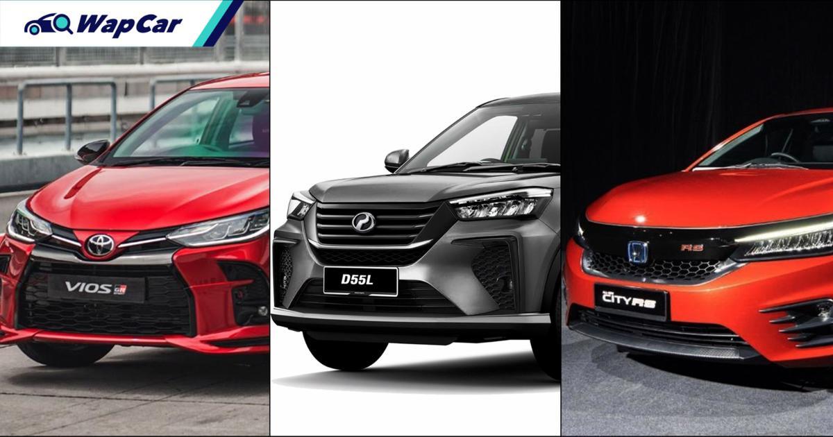 Perodua Ativa (D55L) akan beri kesan paling besar pada Toyota Vios/Honda City, bukan Proton X50 01