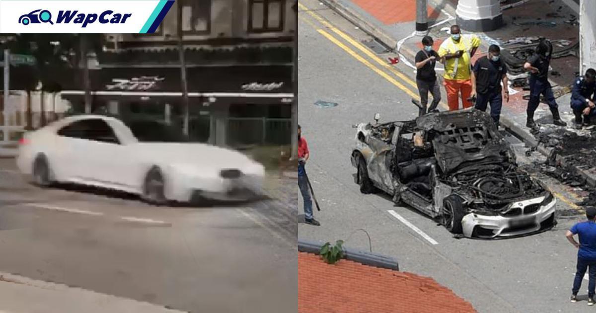 Tanjong Pagar BMW M4 crash: Was it really going at 220 km/h? 01
