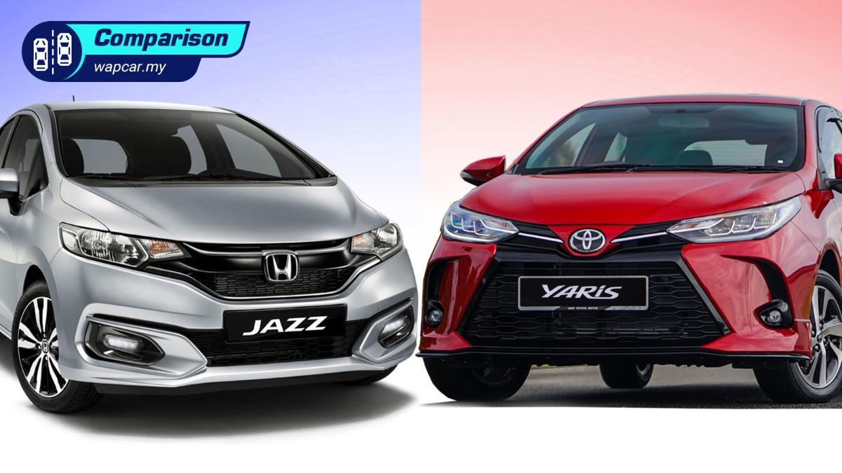 2021 Toyota Yaris vs Honda Jazz - Ageing Jazz still worth buying? 01