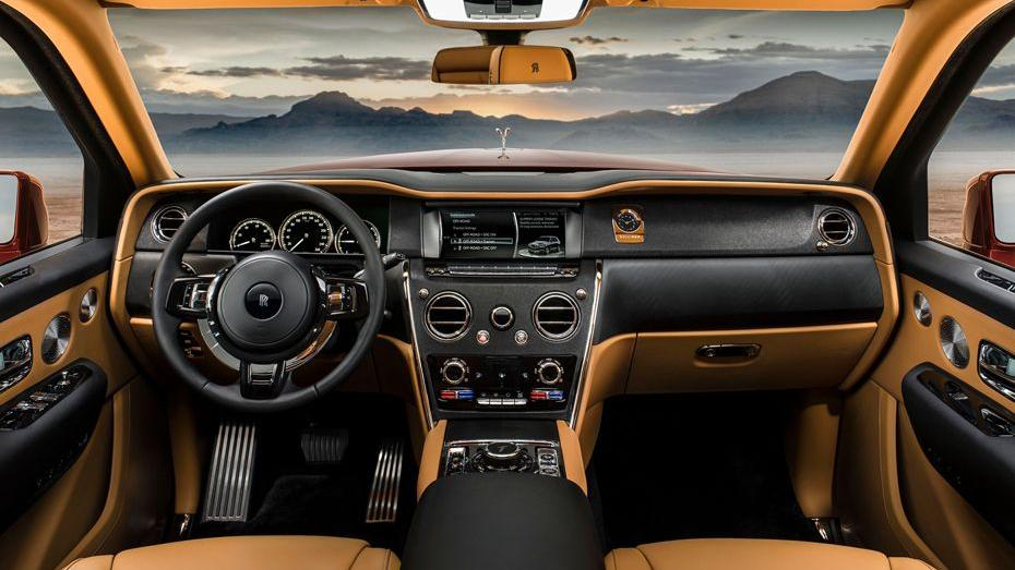 2018 Rolls-Royce Cullinan Cullinan Interior 001