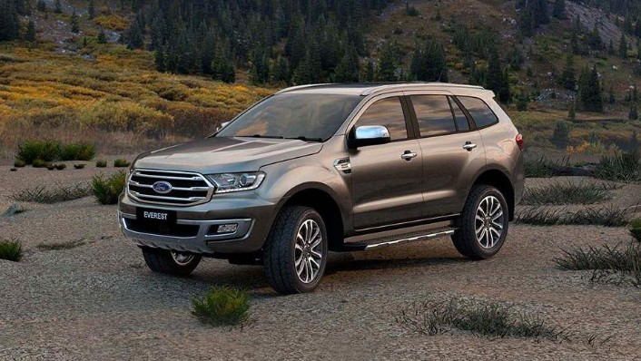 Ford Everest (2017) Exterior 001