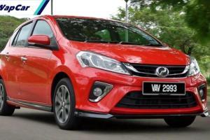 Perodua menjual 10 kali ganda Myvi berbanding Proton Iriz untuk Oktober sahaja!