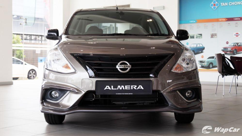 2018 Nissan Almera 1.5L VL AT Exterior 002