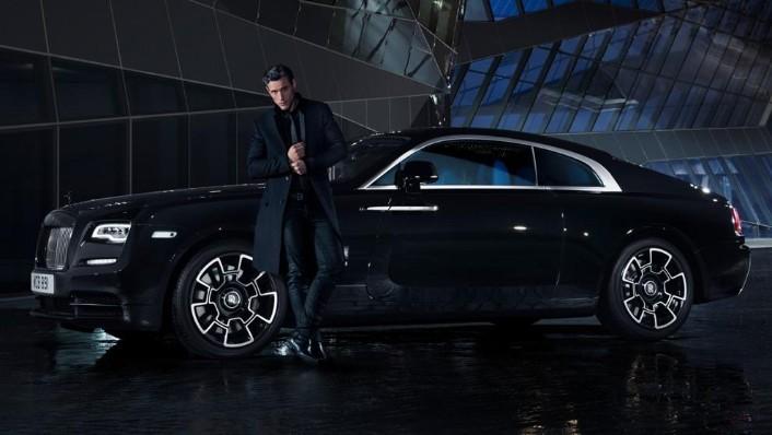2018 Rolls-Royce Wraith Wraith Black Badge Exterior 004