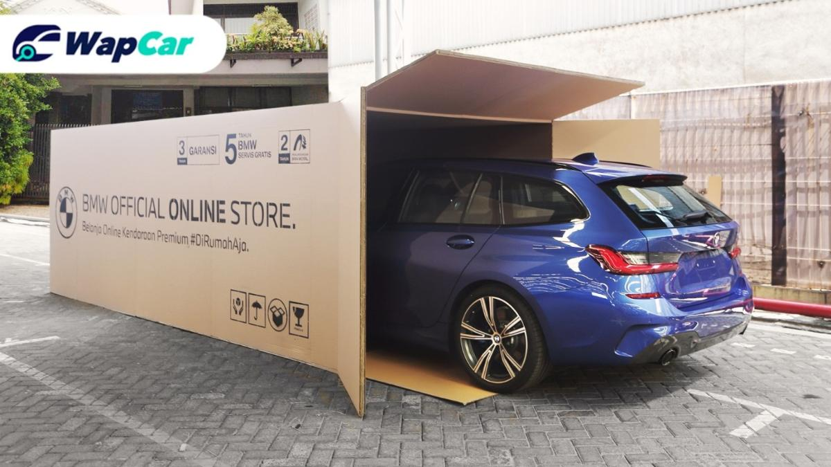 This is how BMW Indonesia is delivering cars during Covid-19 01