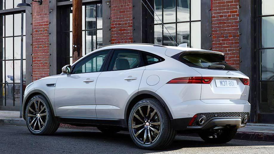 Jaguar E-Pace (2017) Exterior 007