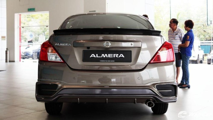 2018 Nissan Almera 1.5L VL AT Exterior 005