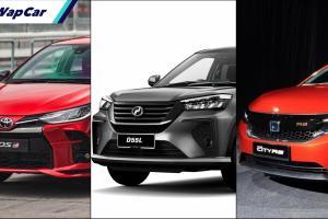 Perodua Ativa (D55L) akan beri kesan paling besar pada Toyota Vios/Honda City, bukan Proton X50