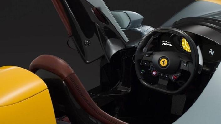 Ferrari Monza SP1 (2019) Interior 002