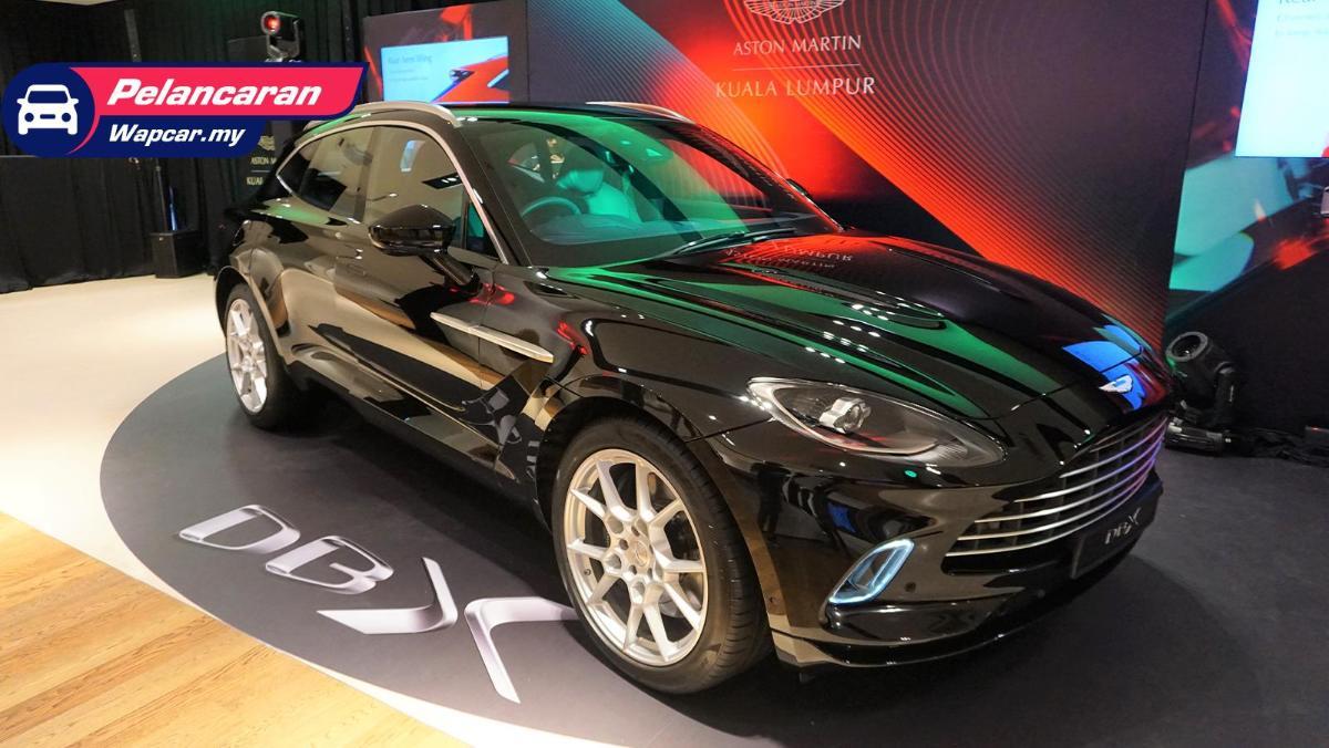 2020 Aston Martin Dbx Dilancarkan 550 Ps Kuasa Kuda 700 Nm Tork Harga Bermula Rm 818 000 Wapcar