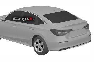 Leaked: Patent images of next gen 2022 Honda Civic Sedan
