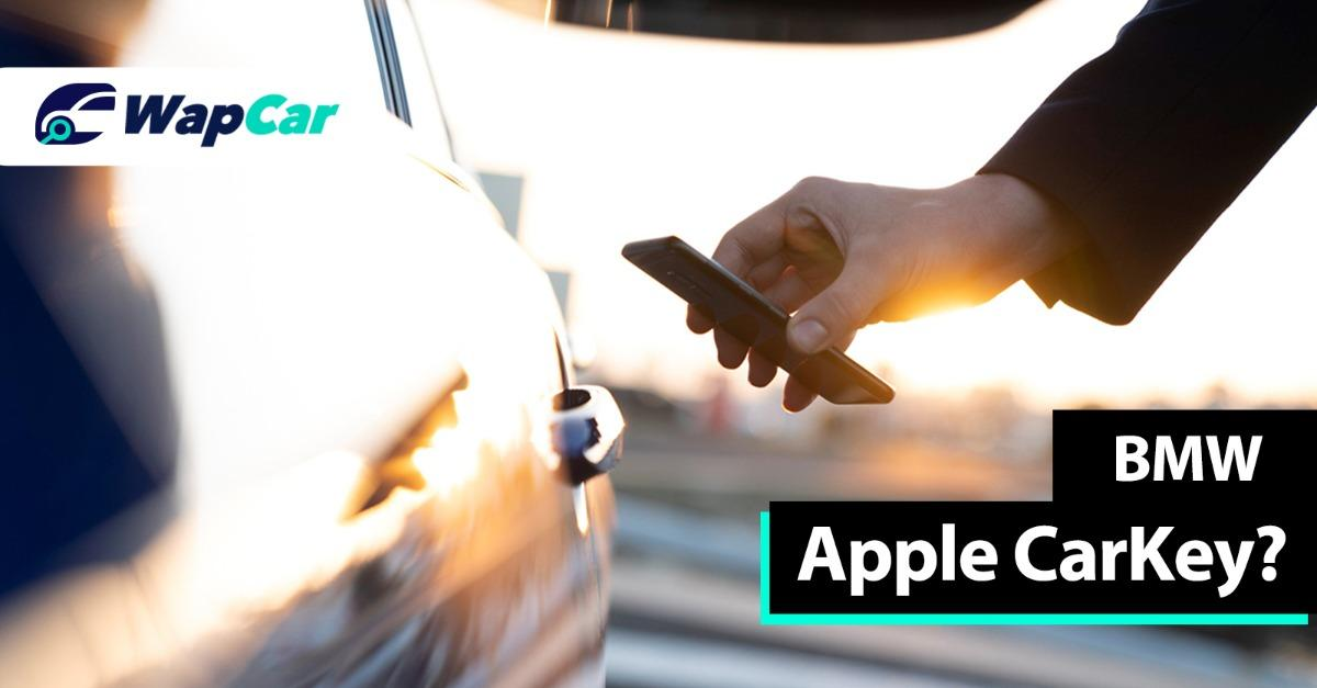 iPhone may finally be able to unlock BMW via Apple CarKey 01