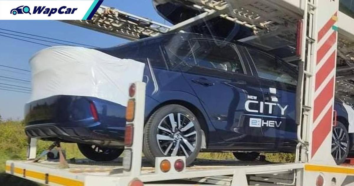 Spyshot: Honda City 2021 e:HEV, Honda City Hatchback 2021 pelancaran Thailand esok! 01