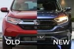Old vs New - 2020 Honda CR-V facelift, what's new?