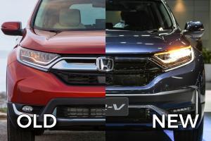 Old vs New - 2020 Honda CR-V facelift, what's new?
