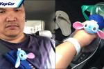 Myvi tema Stitch, brader 'kemurungan' bawa kereta anak buah
