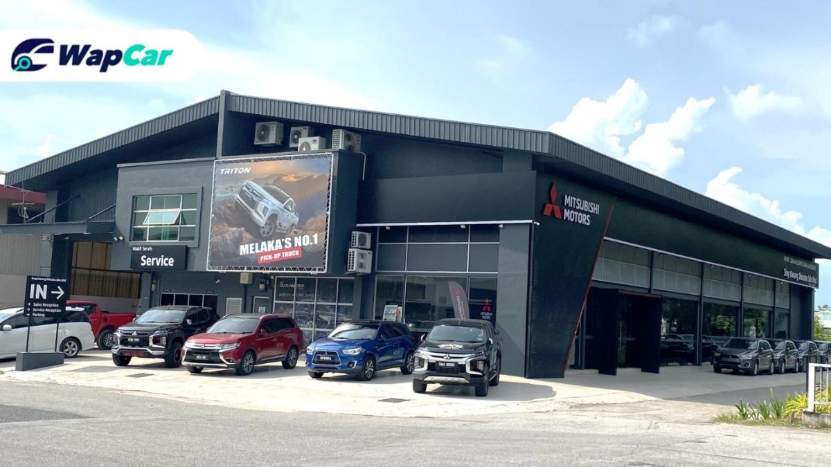 New look for Mitsubishi Motors' new 3S Centre in Melaka 01