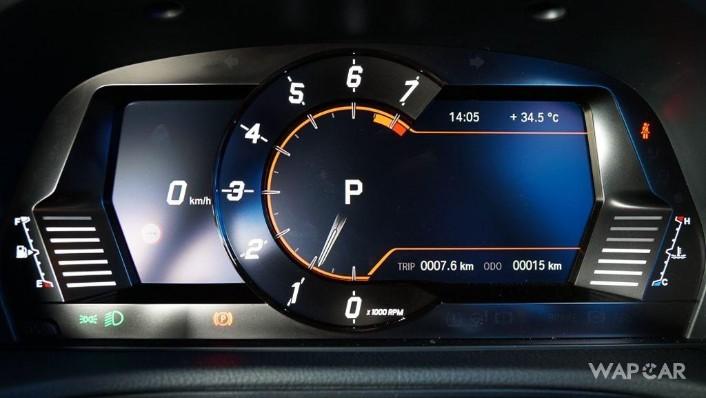2019 Toyota GR Supra 3.0L Interior 006