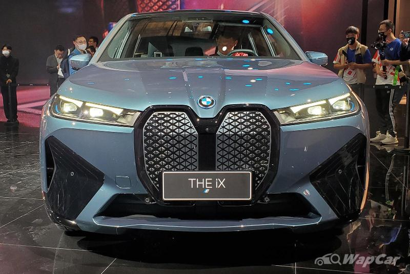 Why the long grille? BMW iX debuts at 2021 Shanghai Auto Show 02