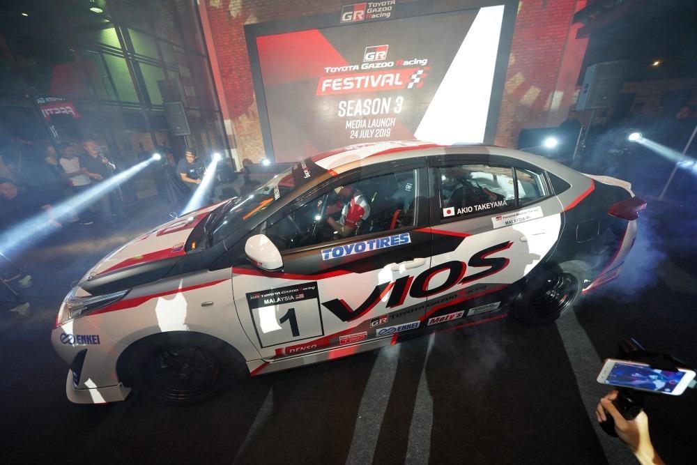 Toyota Gazoo Racing to kick off Season 3 in September 01