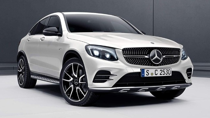 2018 Mercedes-Benz AMG GLC Coupe  43 4MATIC Coupe Exterior 004
