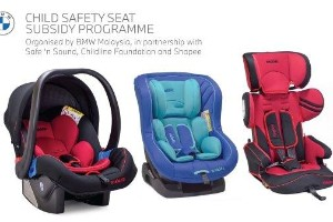 BMW Malaysia has more subsidised child safety seats on offer for the B40 income group