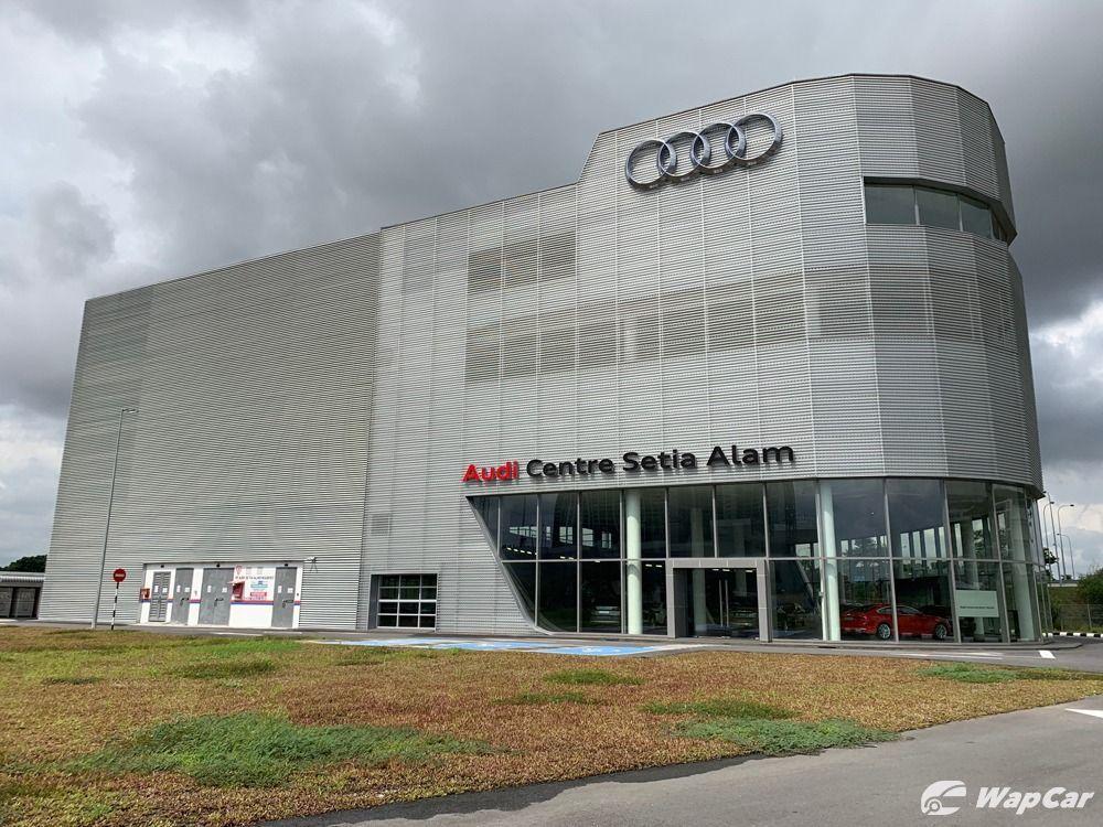 Audi Centre Setia Alam exterior
