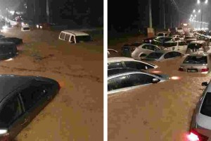 Don't drive through flooded roads with your air-cond on, here's why