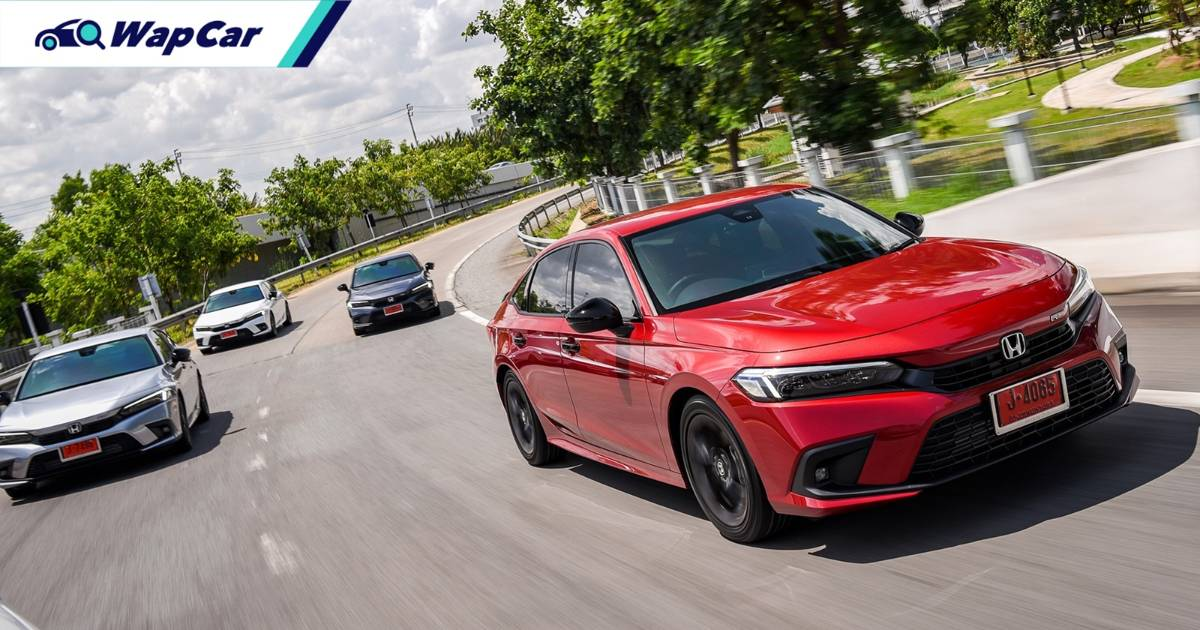2022 Honda Civic FE gets over 3,500 bookings in Thailand in one month 01
