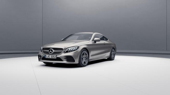 2020 Mercedes-Benz C-Class Coupe C 200 AMG Line Exterior 004