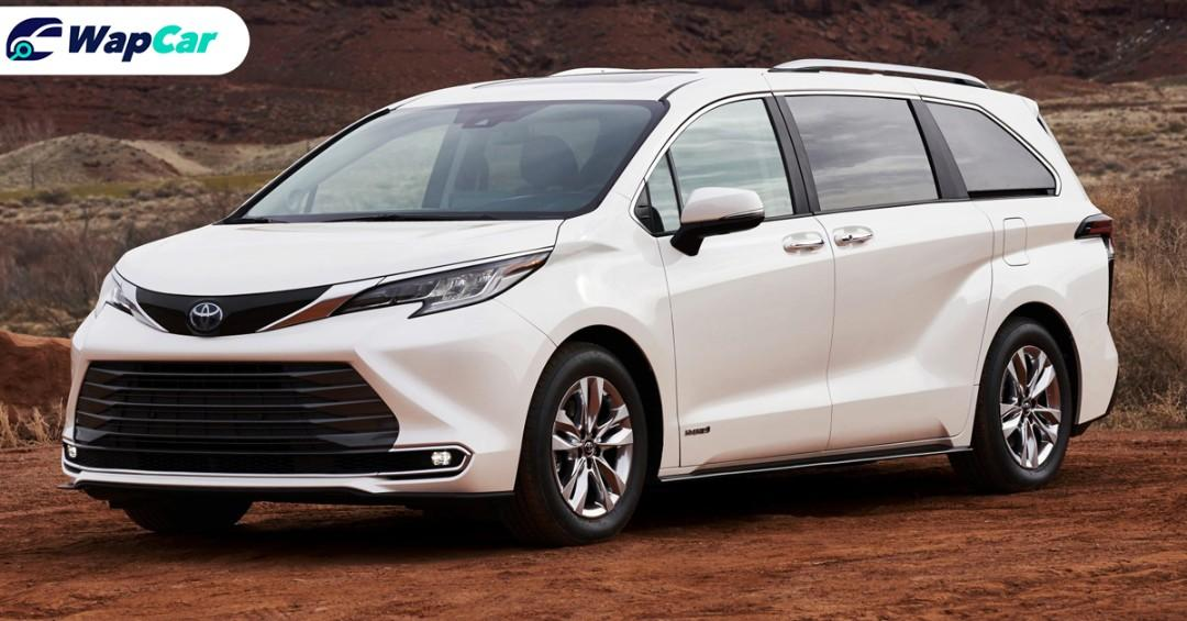 The 2021 Toyota Sienna is a Camry-based MPV we wish we have in Malaysia 01
