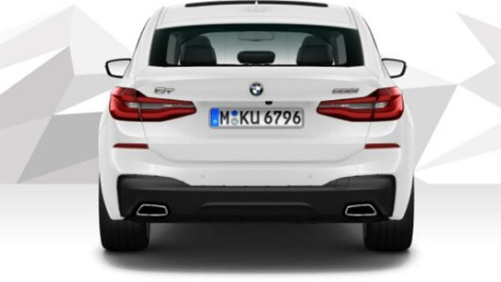 BMW 6 Series GT (2019) Exterior 007