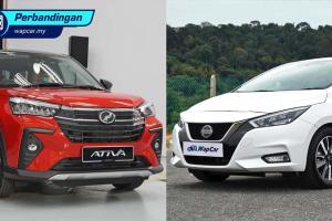 Perodua Ativa 2021 vs Nissan Almera – kereta 1.0L turbo mana yang patut anda beli?
