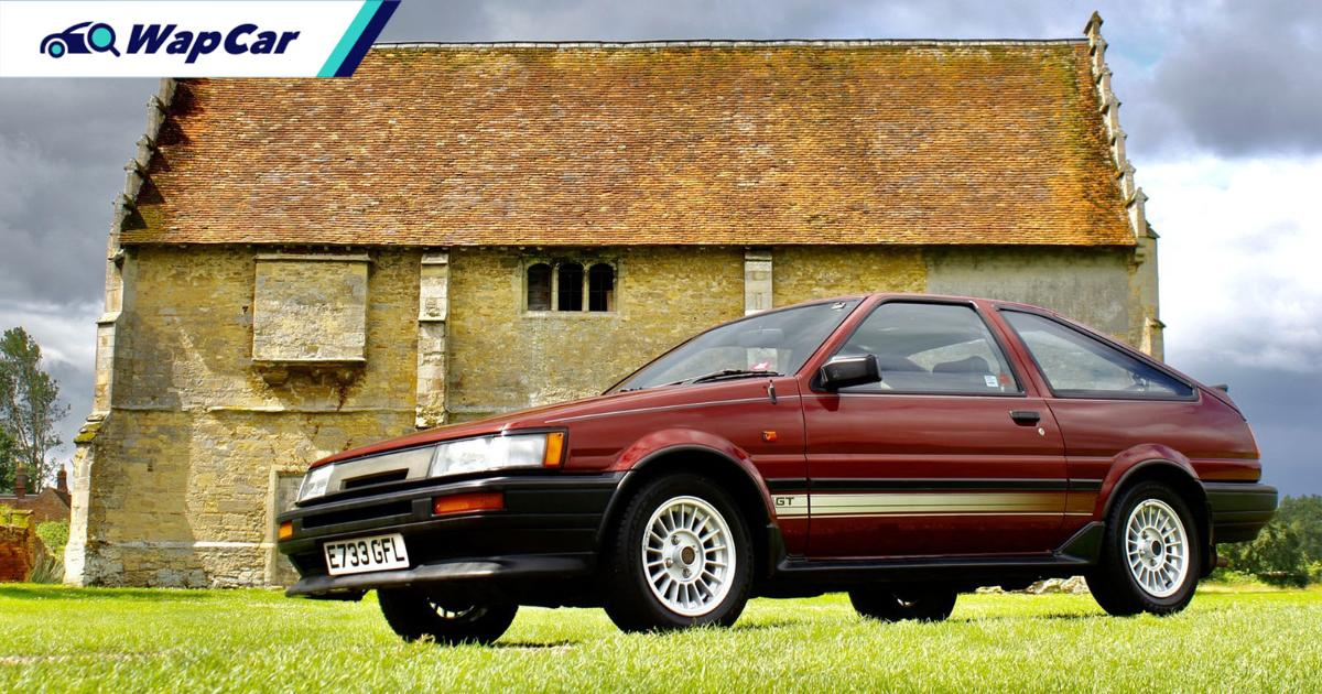 This Toyota Corolla AE86 sold for RM 270k in UK auction and was nearly scrapped off 01