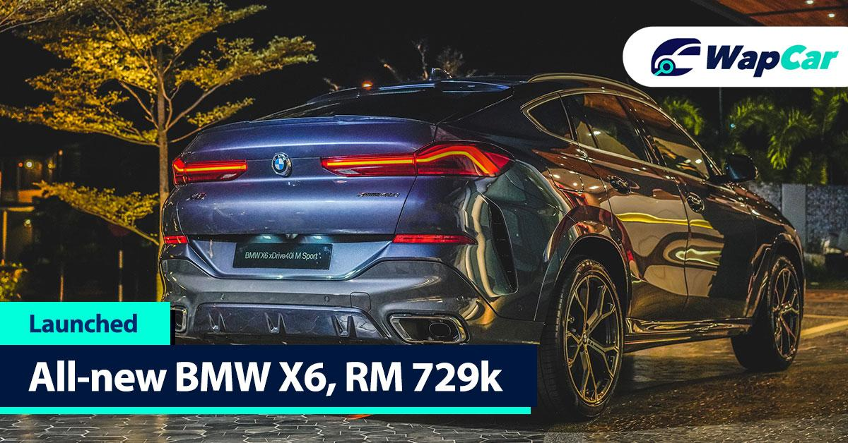 All-new 2020 BMW X6 xDrive40i M Sport launched; 340 PS/450 Nm, CBU, RM 729k 01